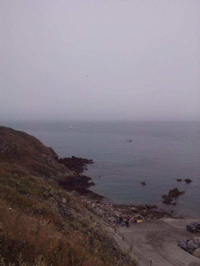 vue du port de Saint cast