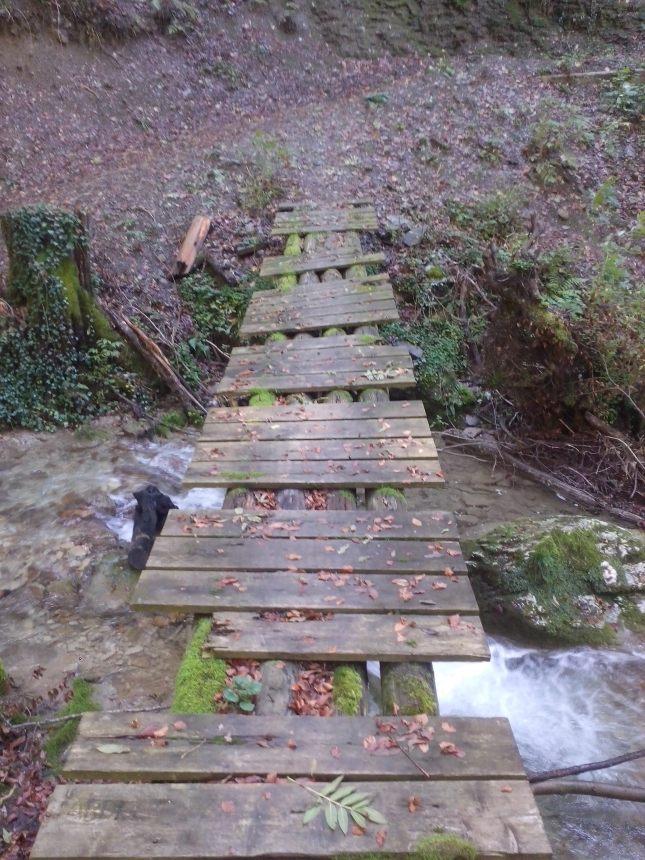 le petit pont de traverse