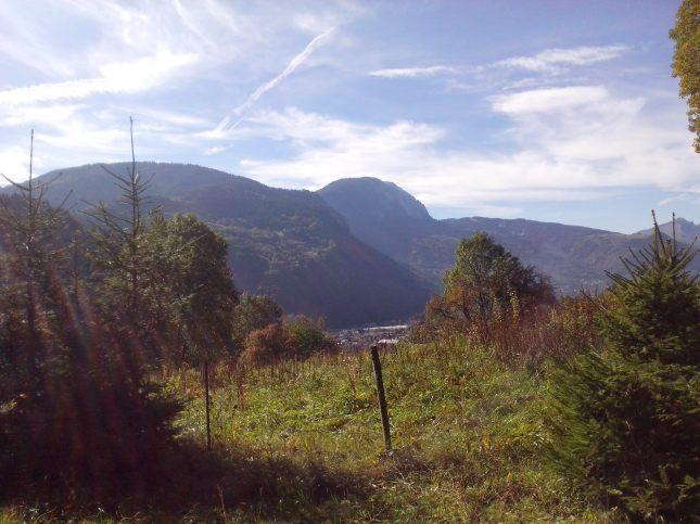 vue depuis le plateau